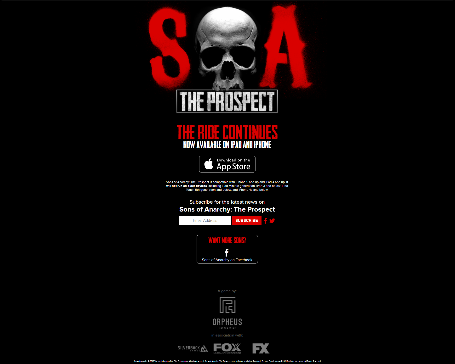 SOAgame.com | Sons of Anarchy | FANDOM powered by Wikia
