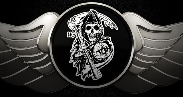 Sons Of Anarchy Logo Template how to draw the sons of anarchy step ...