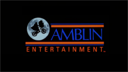 AMBLIN ENTERTAINMENT 1982 LOGO