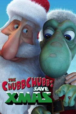 The ChubbChubbs Save Xmas poster