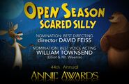 Open Season Scared Silly Annie Awards