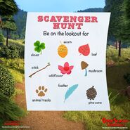 Open Season Scavenger Hunt