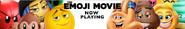Emoji Movie buy tickets banner