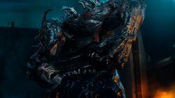 Venom vs Riot fight 2
