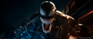 Venom screaming promotional still