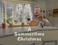 A Summertime Christmas Title card