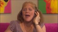 Vicki listening to hip hop music