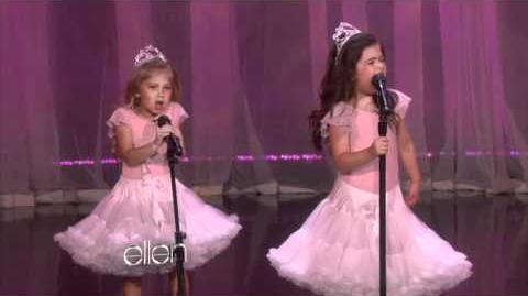 Sophia Grace & Rosie's First Original Song!
