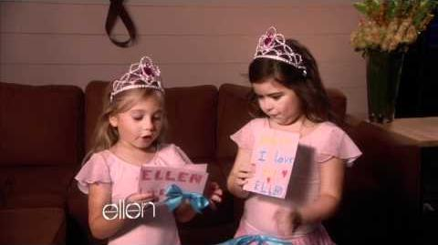 Sophia Grace and Rosie Say Happy Birthday!
