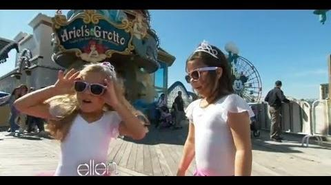 Sophia Grace & Rosie Go to Disneyland!