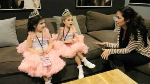 Backstage with Sophia Grace and Rosie