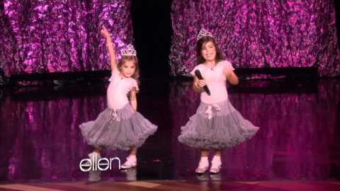 Sophia Grace and Rosie Rap!