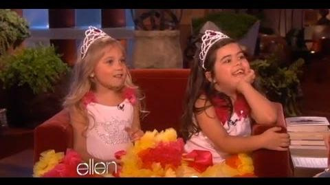 Sophia Grace & Rosie Discuss America