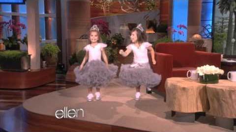 Sophia Grace & Rosie Do the Running Man!
