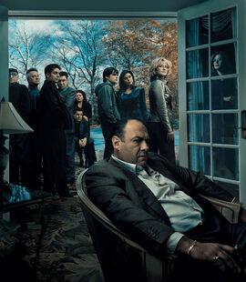 The-Sopranos - Season 6A key art
