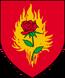 Herb Zakon Płonącej Róży