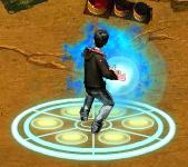 Charging fireball