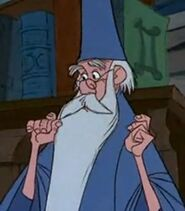 Merlin in The Sword in the Stone