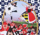 The Queen of Hearts's Card Army