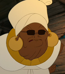 Mama Odie in The Princess and the Frog