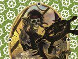 The Pirate Helmsman's Bombardment