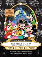 The Phantasmal Fireworks Flash spell card