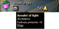 Amulet of light