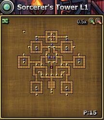 Sorc tower Base level