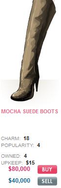 Mocha Suede Boots
