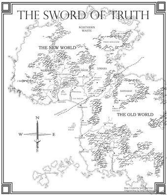 sword of truth world map Category Maps Sword Of Truth Wiki Fandom