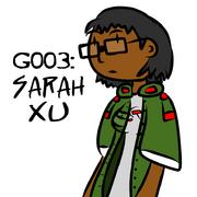 G003 - Sarah Xu