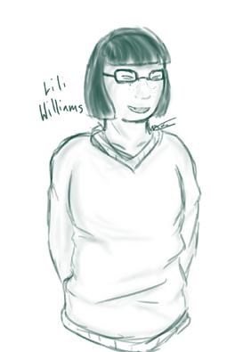 Lili Williams by Alex