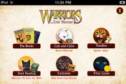 Warriors App kotisivu