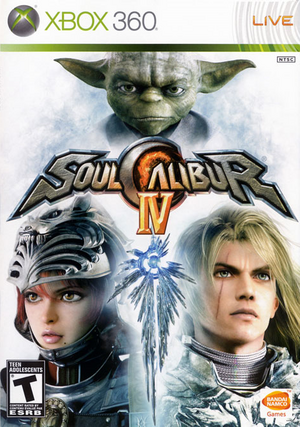 Soulcalibur IV Xbox 360 Case
