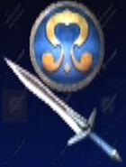 Omega Sword and Nemea Shield (1P)