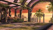 Thesmophoros' Imperial Garden - Sunset
