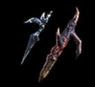 Soul Edge and Soul Calibur Elbow Blades