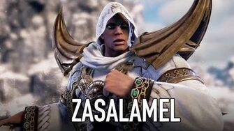 SOULCALIBUR VI - PS4 XB1 PC - Zasalamel (Character announcement trailer)