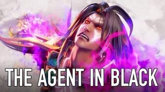 SOULCALIBUR VI - PS4 XB1 PC - The Agent in Black (Character announcement trailer)