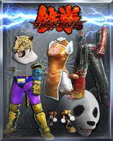 Tekken Costumes Pack