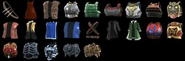 Soul Calibur V CaS all chest equipment