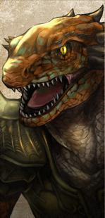 Soul Calibur 6 (VI) Lizardman (Generic Aeon Calcos)