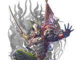 Sword Demon Mask