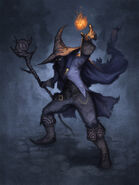 Black mage by alexstoneart-d2zqbax
