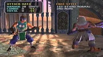 SoulCalibur III PS2 Hwang's Command List (Part 1 of 2) Request from Kanjilearner