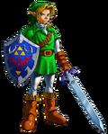 Link Artwork 1 (Ocarina of Time)
