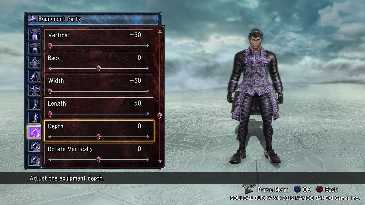 Soul Calibur 5 Characters