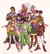 Characters (Soul Edge Artbook)