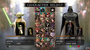 Soul calibur 4-yoda vs vader screenshot2