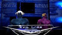 Demon Sanya and Spider Serik WWE Smack Down Vs Raw